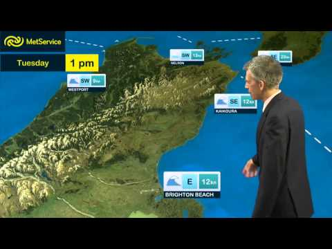 Marine Weather Update for TUE 21st and WED 22nd January 2014.