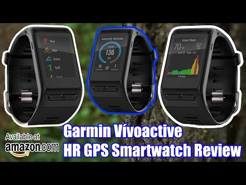 Garmin Vívoactive HR GPS Smartwatch Review Products Review & Unboxing Garmin Vivoactive HR Review