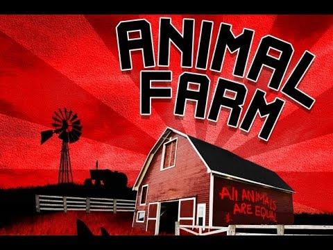 Animal Farm 1954   Cartoon George Orwell Educational Full ENGLISH