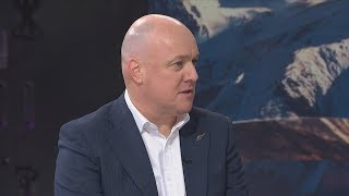 Air NZ chief executive 'not ruling out' going into politics, identifies with National party
