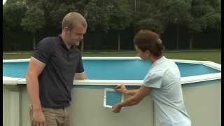 Сборный круглый бассейн Bestway Hydrium (360x120) с песочным фильтром