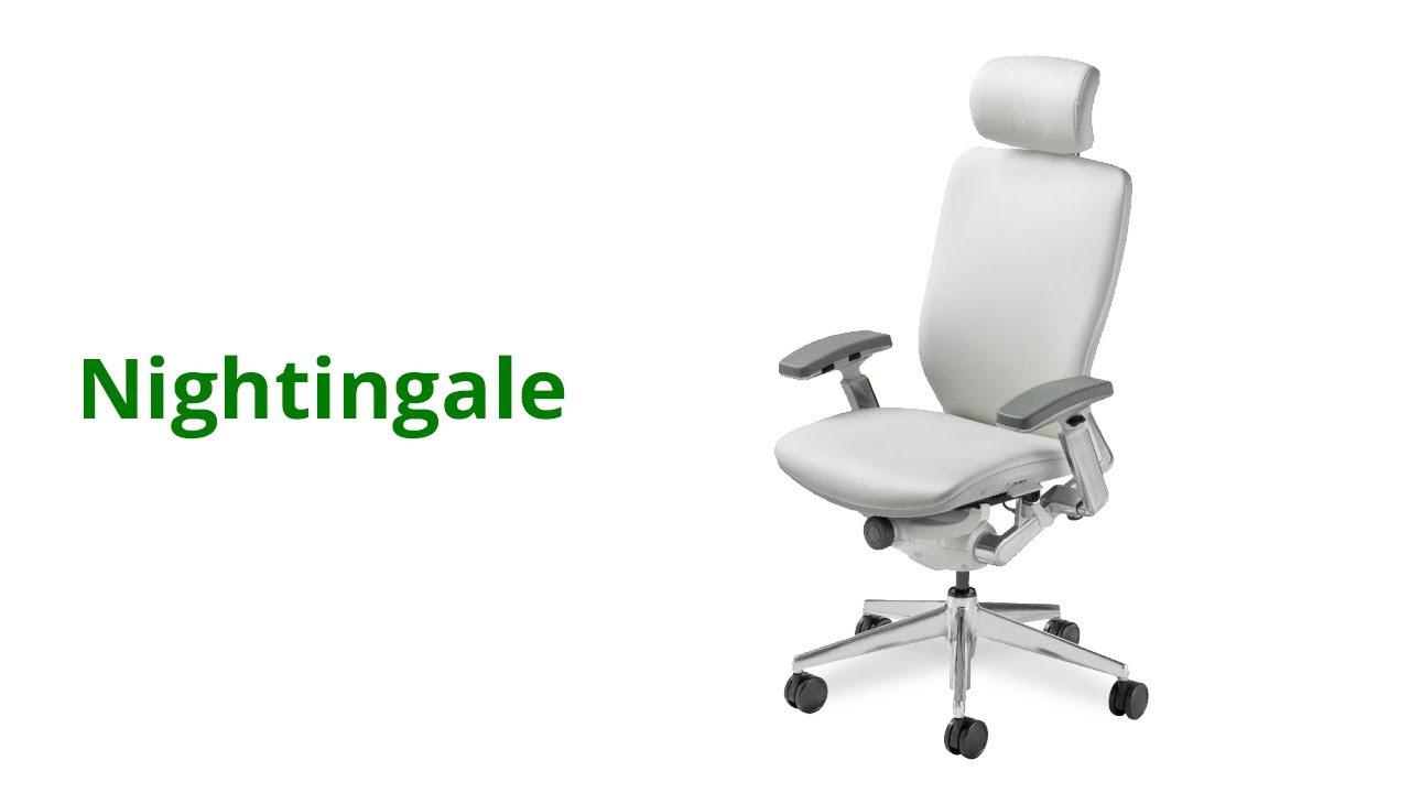 nightingale chairs cxo. nightingale dealer manhattan office design shows chairs - youtube cxo