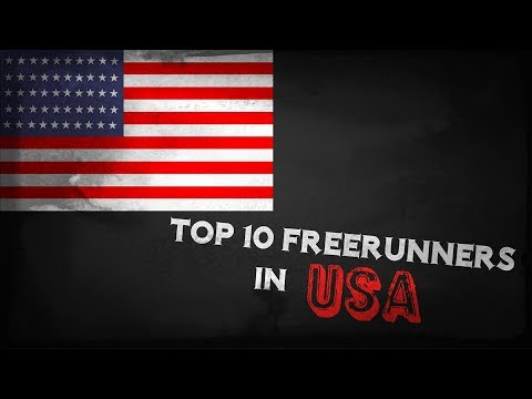 TOP 10 FREERUNNERS IN USA