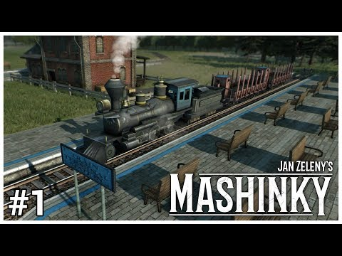 Mashinky - #1 - Full Steam Ahead - Let's Play / Gameplay / Construction