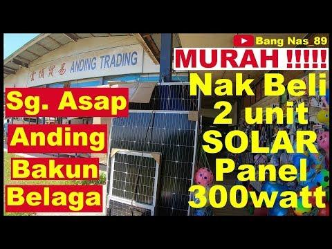 Beli Solar Panel Di Anding Trading. Sungai Asap, Bakun Dam, Belaga. Pengembara Dari Bintulu.
