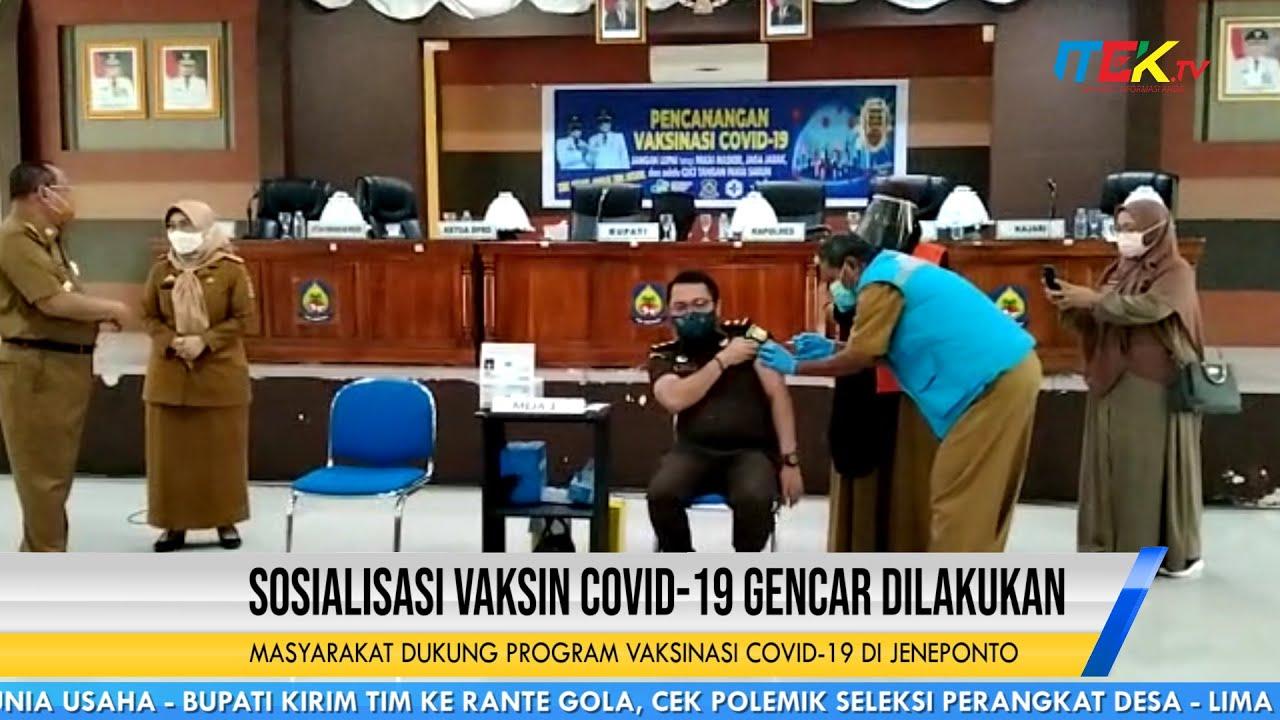 Sosialisasi Vaksin COVID 19 Gencar Dilakukan