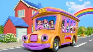Wheels On The Bus | Nursery Rhymes & Kids Songs by Little Tr...