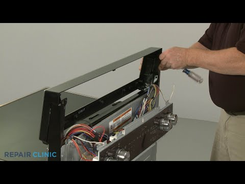 Control Panel - Kitchenaid Double Oven Electric Range #KFED500ESS02