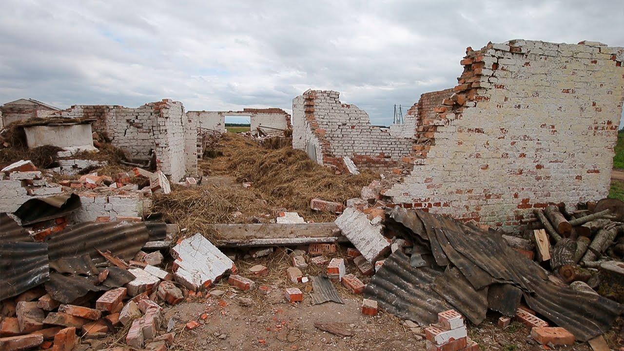 Фото пирамиды на новой риге после урагана трубки пенки