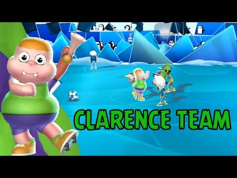 Cartoon Network Superstar Soccer Goal - CLARENCE TEAM - CHAMPIONSHIP BRACKETS-CLARENCE'S GOLD TROPHY