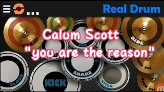 Download Lagu Calum Scott - You Are The Reason Real Drum Cover Mp3