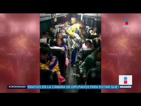 Militar asaltó camión de estudiantes en Edomex | Noticias con Ciro Gómez Leyva