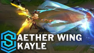 Aether Wing Kayle (2019) Skin Spotlight - League of Legends