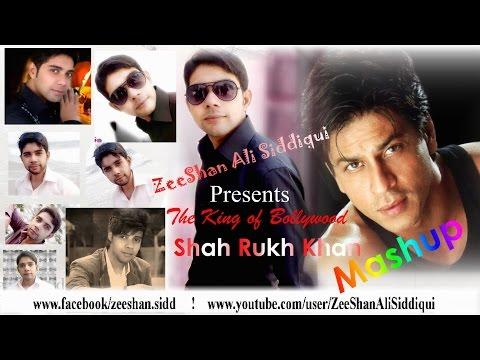 Shah Rukh Khan Latest Mashup with Lyrics By Zeeshan Ali Siddiqui HD