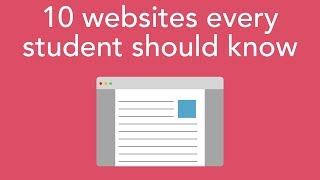 10 websites every student should know