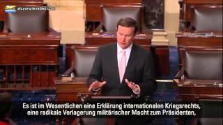 US-Senat - Ausrufung des internationalen Kriegsrechts