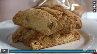 Festive Almond, Orange And Pistachio Biscotti Recipe