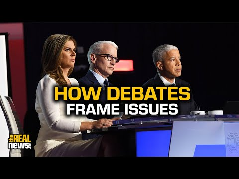 How Presidential Debates Frame Issues to Support Moderate Candidates