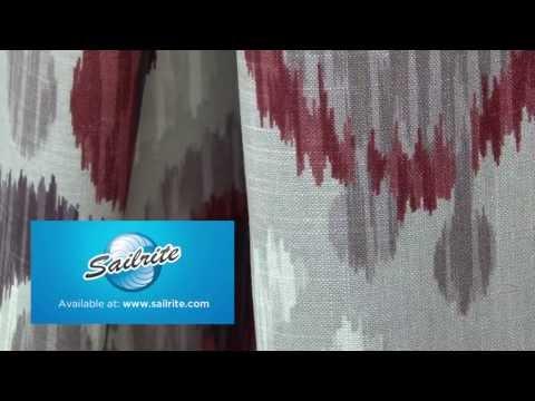 Video of Braemore Journey Wine Fabric #104144