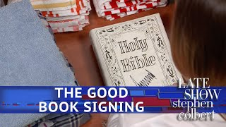 What Happens When Trump Signs A Bible