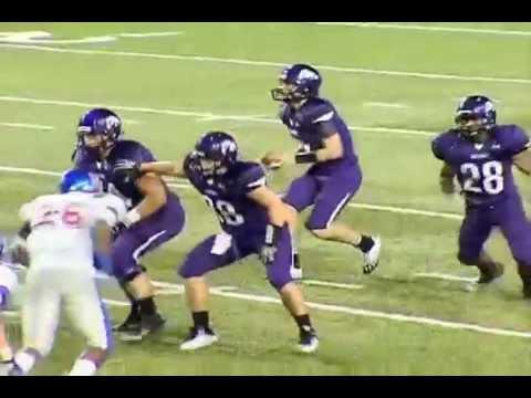 2012: Memphis University School 42, Fayetteville 20 - Week 1