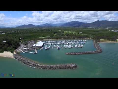 Phantom 3 Yorkeys Knob Boat Marina Golf Club Trinity Park Harbour