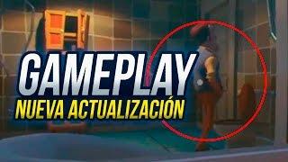 EL VECINO MEANDO, ROBANDOLE Y MAS ... GAMEPLAY NUEVA ACTUALIZACIÓN   HELLO NEIGHBOR