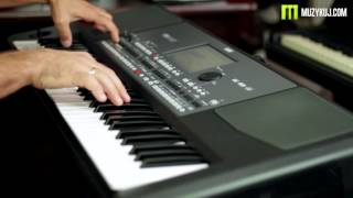 Korg Pa600 Video Manual -- Part 2: Sounds - YouTube