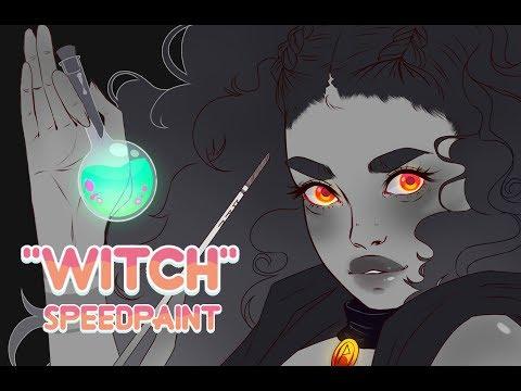"""""""Witch""""    Speedpaint"""