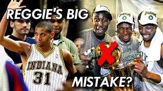 The one DECISION That kept Reggie Miller from WINNING an NBA Championship!