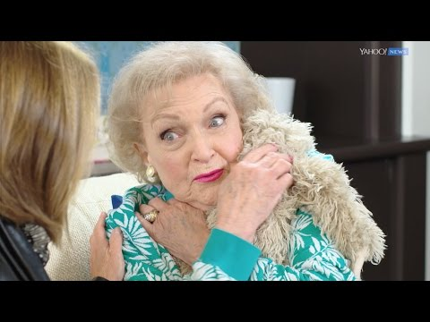 Brady - Betty White Shares Secret To Living A Long Life