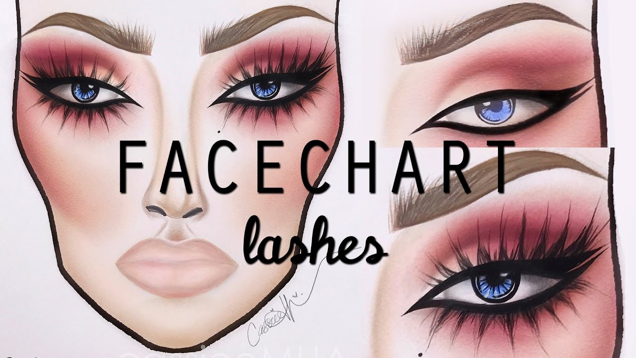 facechart-lash-tutorial-cassieemua