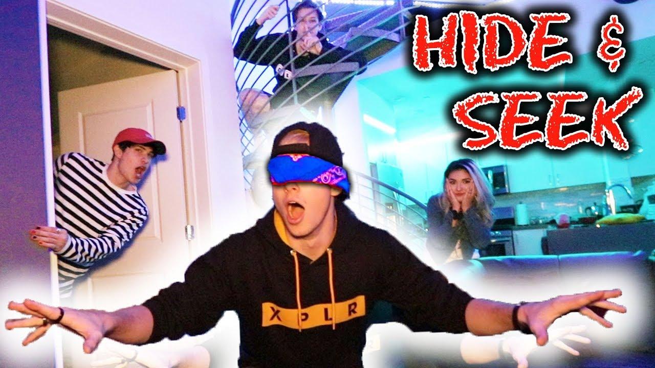 Download BLIND HIDE AND SEEK (at NIGHT!!!)   Sam Golbach