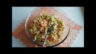 Вкуснейший салат из пекинской капусты и куриного мяса Со стола в миг улетает!!!