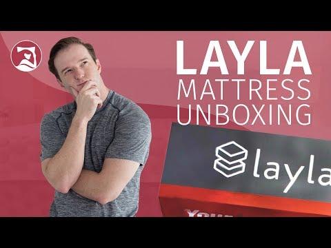 Layla Mattress - Unboxing
