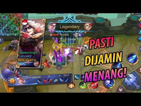 TUTORIAL LANCELOT 100% WIN! - Mobile Legends Indonesia #31