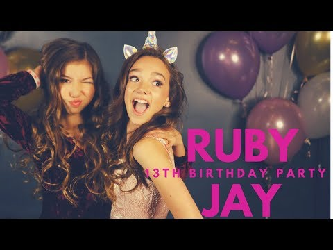 Ruby Jay's 13th Birthday Party!!