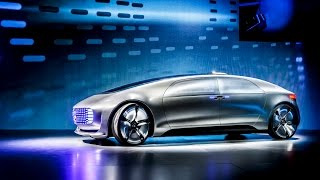 Mercedes-Benz F 015 Luxury in Motion | World Premiere