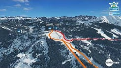 Königstour in 3D - Skiregion Hochkönig