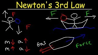 Скачать Newton S Third Law Of Motion Explained Examples Action And Reaction Forces Physics Problems