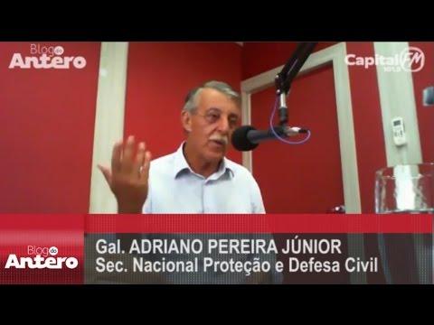 Entrevista Gal  Adriano Pereira Júnior   Jornal da Capital 2903