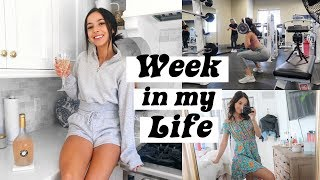 WEEKLY VLOG | WHAT I DID + LEG WORKOUT + HELLO MOLLY HAUL