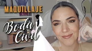 Maquillaje de mi boda Civil 👰🏻♀️ Paso a paso