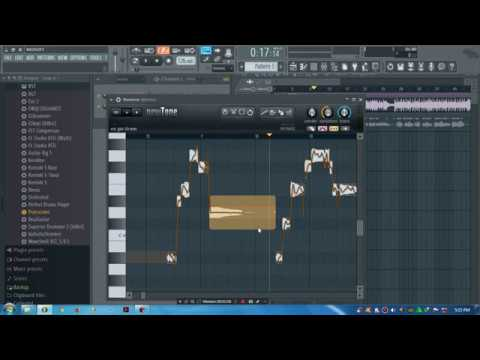 CARA edit suara yang fals dengan Fl studio