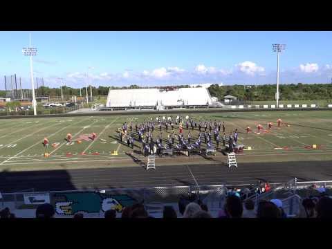 Martin County High School Tiger Regiment - Marching MPA - Oct. 25, 2014