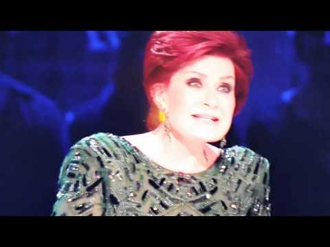 X factor Sharon Osbourne says titties