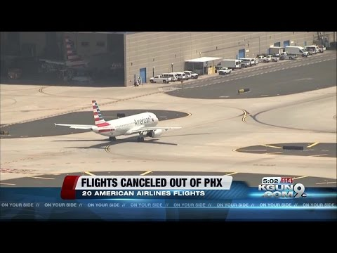 Excessive heat warning in Phoenix affecting flights out of Sky Harbor Airport