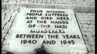 DiFilm - Memorial Jews killed in concentration camps Auschwitz 1967