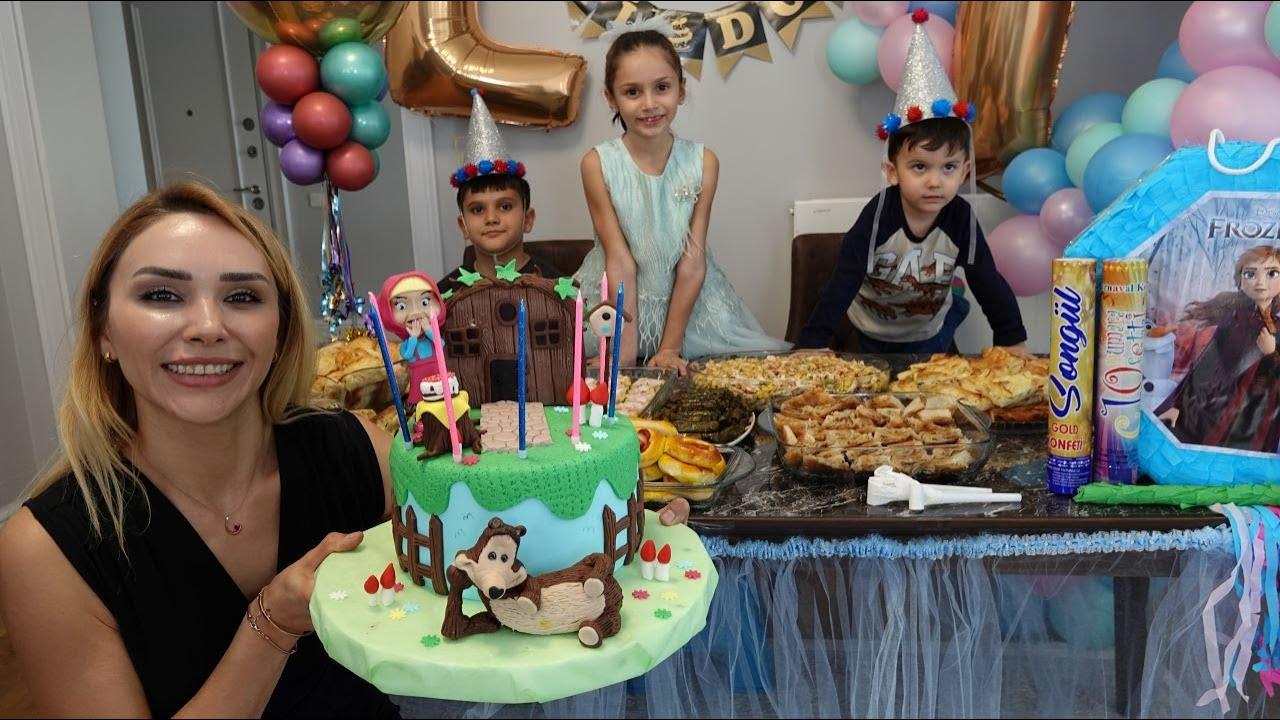 Lina'ya Sürpriz Doğum Günü Partisi! Çok Sevindi!
