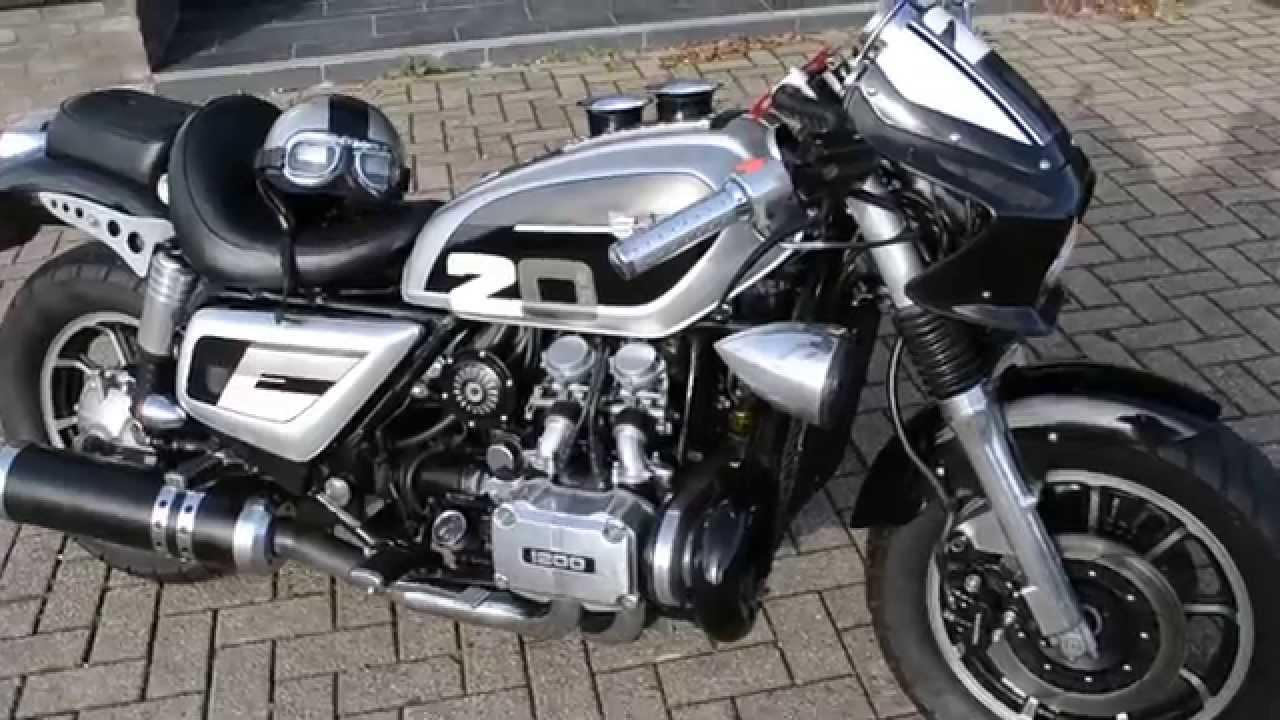 Honda Goldwing 1200 Cafe Racer Streetfighter
